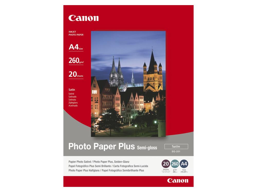 Фото бумага Canon SG-201 A4  260 г\м2 20 листов