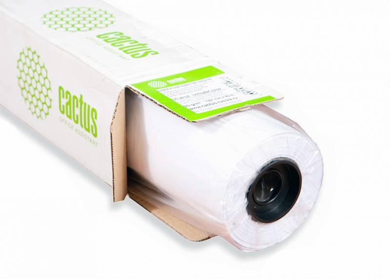 """Универсальная бумага Cactus CS-PC90-106745 для плоттеров 42"""" 1067мм*45м 90 г/м2 втулка 50,8мм (2"""")"""
