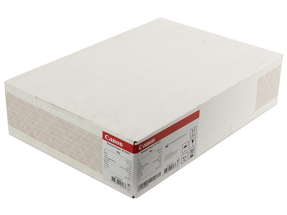 Бумага для плоттеров CANON Std. Paper 80gsm 432mmx50m 3 рулона