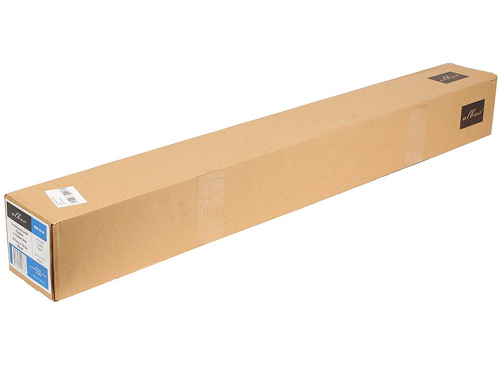 (W90-36-30) Бумага Albeo InkJet Coated Paper-Universal, универсальная для плоттеров, с покрытием, в рулонах, втулка 50,8 мм, (0,914х30 м., 90 г/кв.м.) w90 36 30 бумага albeo inkjet coated paper universal универсальная для плоттеров с покрытием в рулонах втулка 50 8 мм 0 914х30 м 90 г кв м