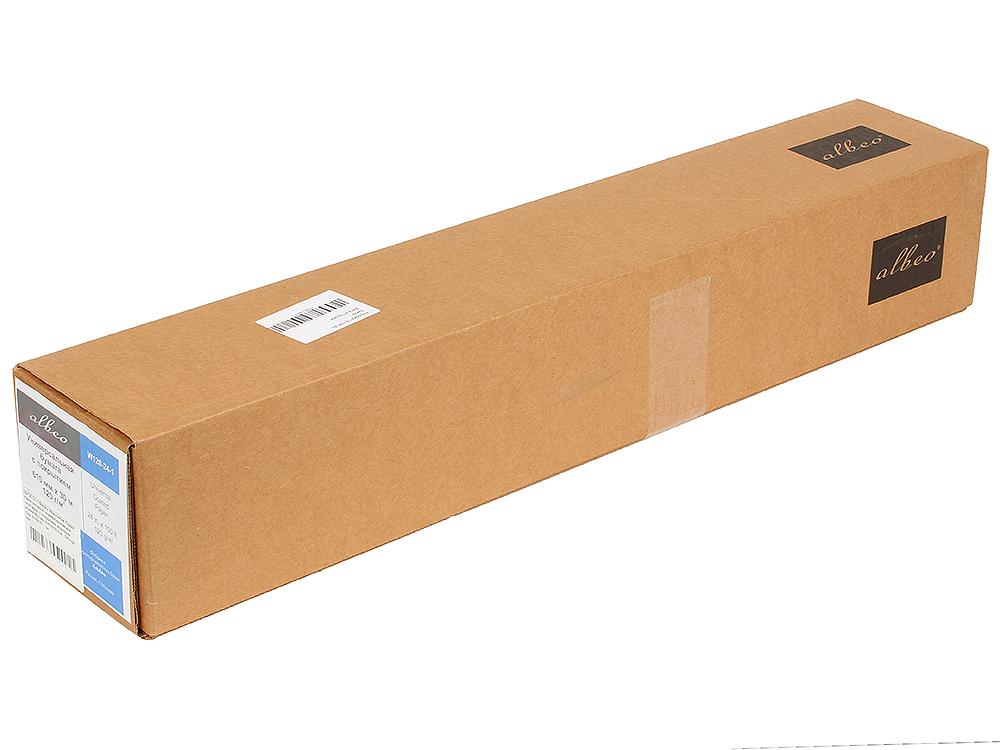 (W120-24-1) Бумага Albeo InkJet Coated Paper-Universal, универсальная для плоттеров, с покрытием, в рулонах, втулка 50,8 мм, (0,610х30,5