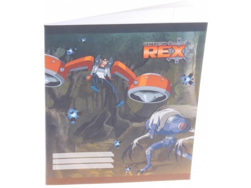 Generator Rex. Тетрадь 24 л. в линейку