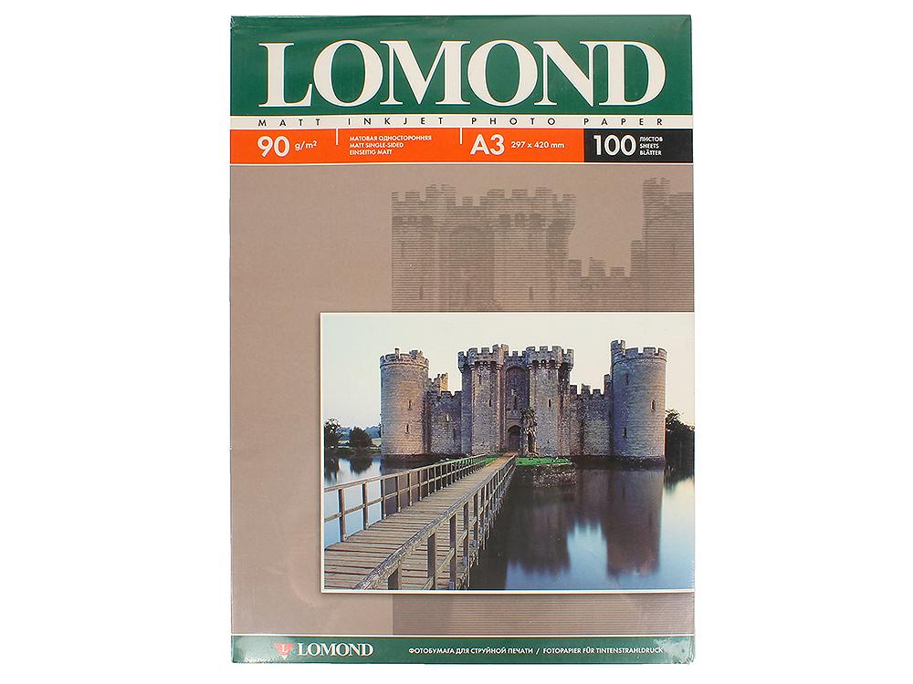 Бумана Lomond A3 90Г/м2 100л матовая (0102011)