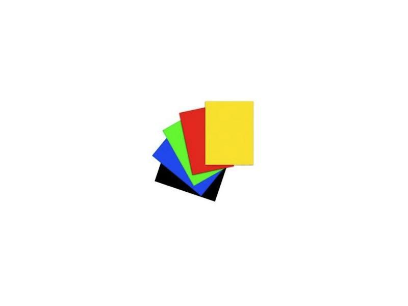 Набор цветной бархатной бумаги Action! А4 (5 цветов, 5 листов) FD10010