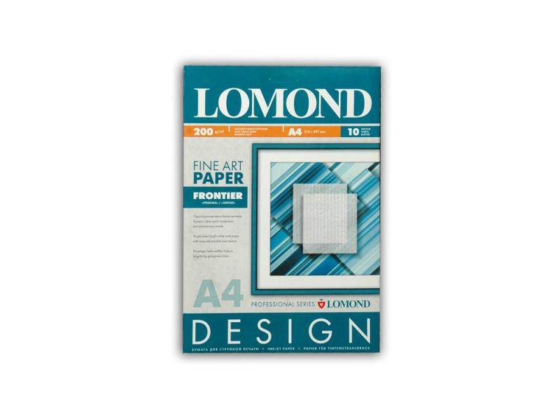 Фотобумага Lomond A4 200г/м2 матовая дизайнерская Гребенка 10л 0927041