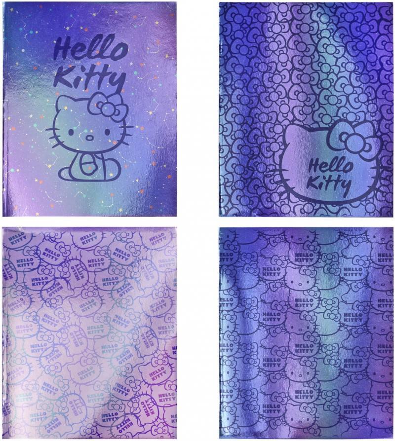 Тетрадь общая Action! Hello Kitty 96 листов клетка скрепка HKO-AN-9601/5 в ассортименте HKO-AN-9601/ тетрадь общая action hello kitty hko an 4801 5 3 48 листов клетка скрепка
