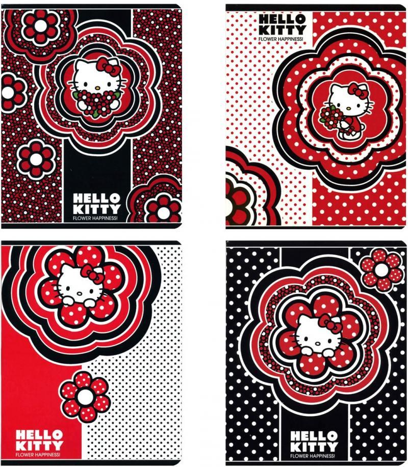 Тетрадь общая Action! Hello Kitty 48 листов клетка скрепка HKO-AN-4801/5 в ассортименте HKO-AN-4801/ тетрадь общая action hello kitty hko an 4801 5 3 48 листов клетка скрепка