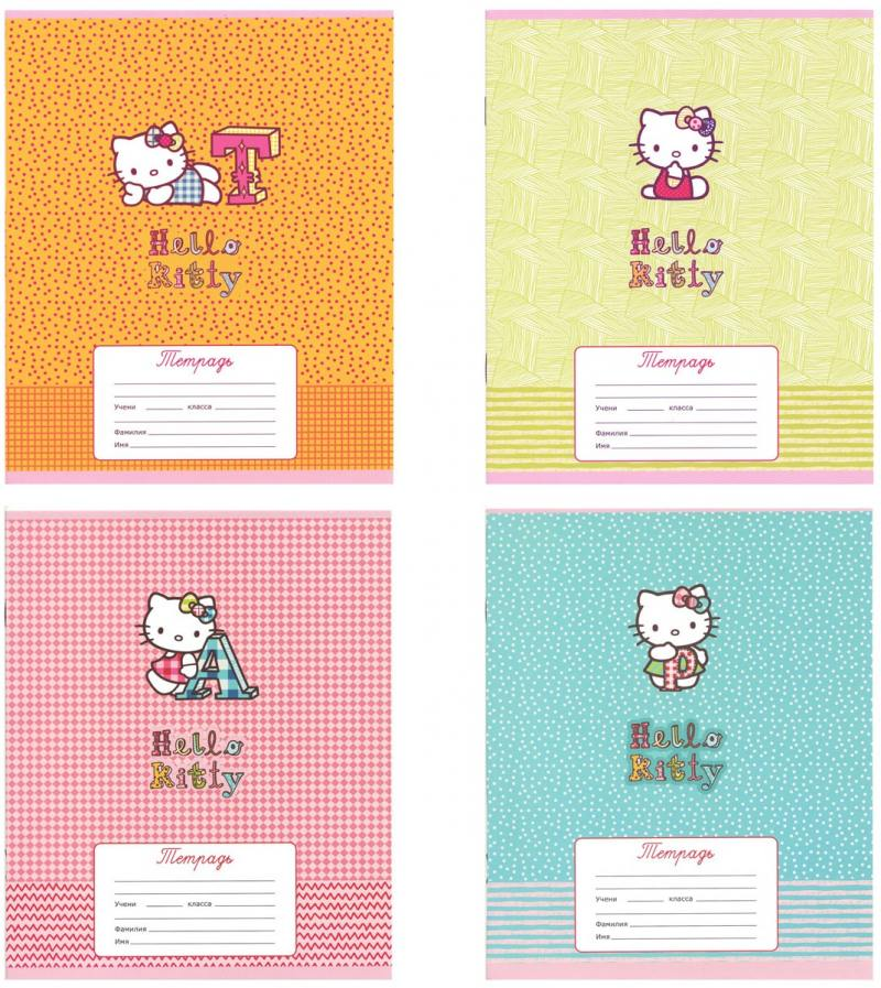 Тетрадь школьная Action! Hello Kitty 12 листов клетка скрепка HKO-AN-1201/5-2 в ассортименте HKO-AN- тетрадь школьная action animal planet 48 листов клетка скрепка ap an 4804 5 в ассортименте ap an 4804 5