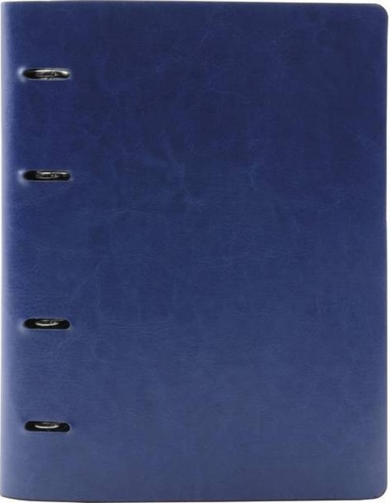 Тетрадь общая Index ICO01/A4/BU 160 листов клетка кольца  ICO01/A4/BU