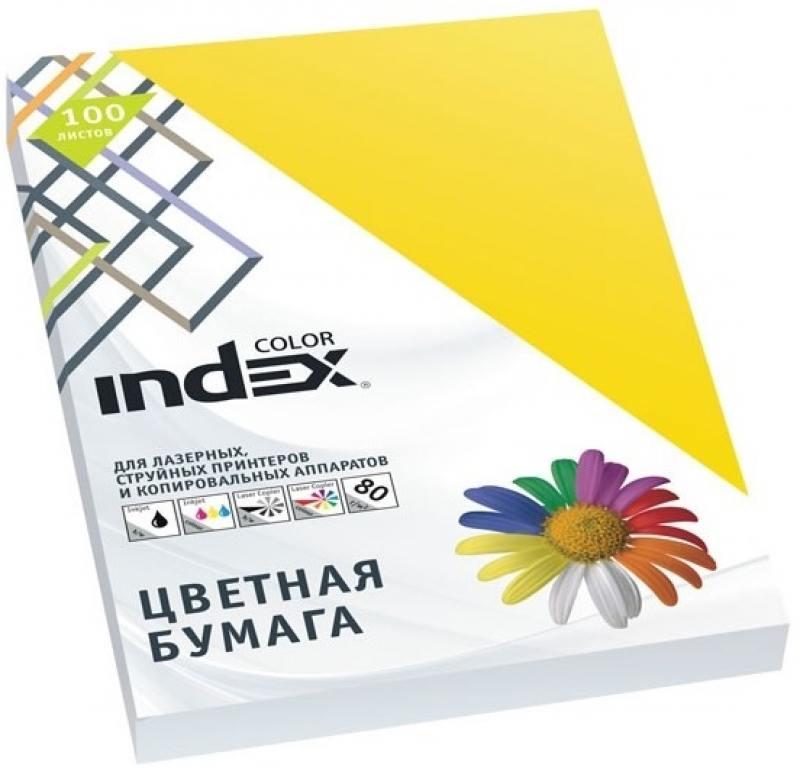 Цветная бумага Index Color IC56/100 A4 100 листов цветная бумага index color a4 100 листов icmixpastel 4х25 100