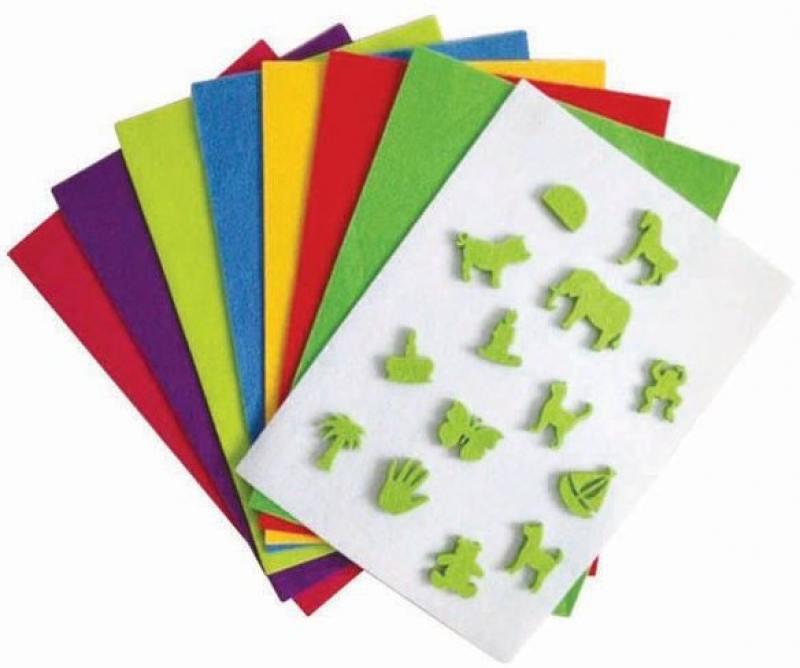 Набор фетра Fancy Creative FD010031 A4 10 листов канцелярия fancy creative набор самоклеющейся цветной голографической бумаги a4 6 цв 6 л