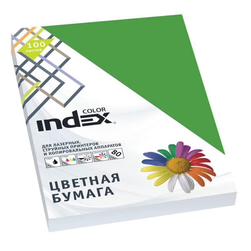 Цветная бумага Index Color A4 100 листов IC63/100