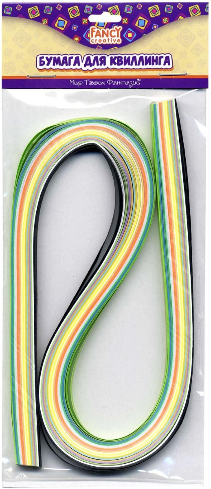 Картинка для Бумага для квиллинга Fancy Creative Микс 6 мм 100 листов FD090011