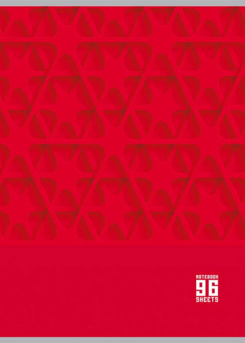 Тетрадь общая Би Джи Mono Color 96 листов клетка евроспираль Т4гр96 1213 открывалка мультидом би