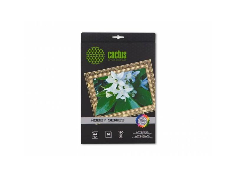 Бумага Cactus CS-DA419010 A4 190г/кв.м матовая 10л