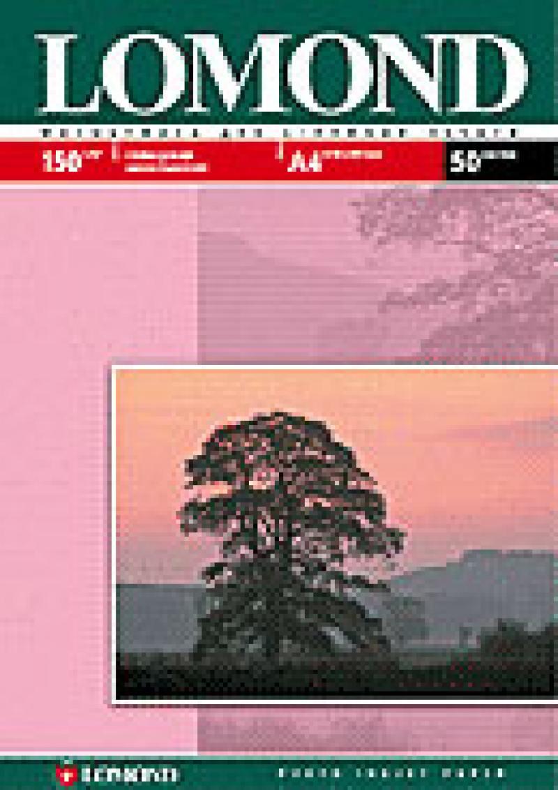 Бумага Lomond A4 150г/кв.м Glossy InkJet [0102018] 50л d color