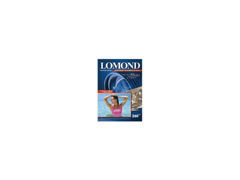 Бумага Lomond A4 260г/кв.м Semi Glossy [1103301] 20л фотобумага a4 lomond 1103301 260 г м2