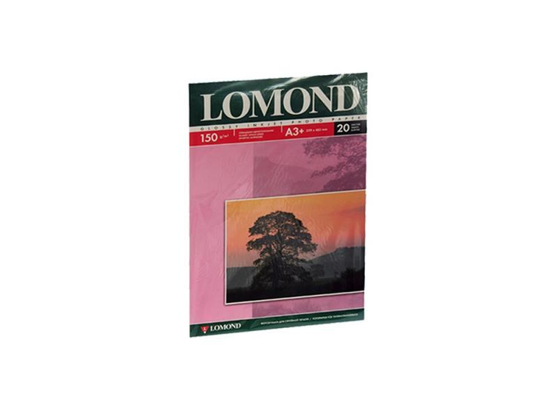 Фотобумага Lomond А3 150г/м2 глянцевая 20л 0102026