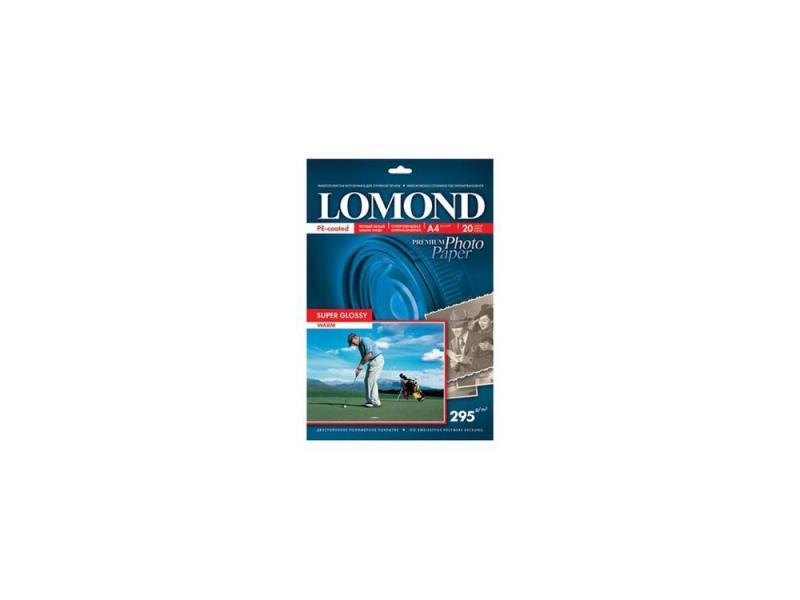 Фотобумага Lomond A4 295г/м2 20л суперглянцевая 1108101