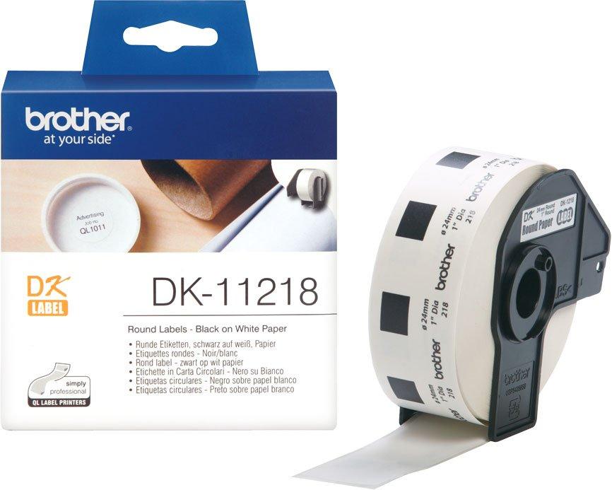 Наклейка Brother DK-11218 2.5см 1000шт my own dear brother