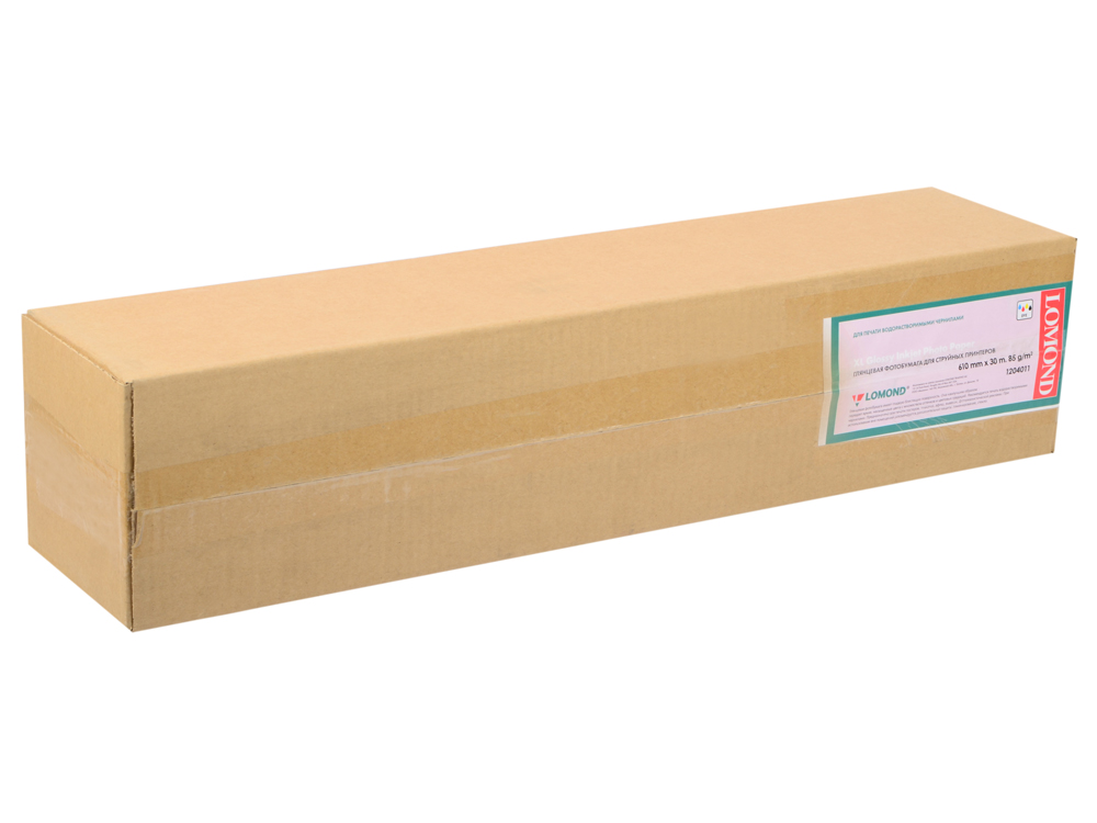 Бумага Lomond 8г/м2 глянцевая 610x45x50.8мм 1204011 недорго, оригинальная цена