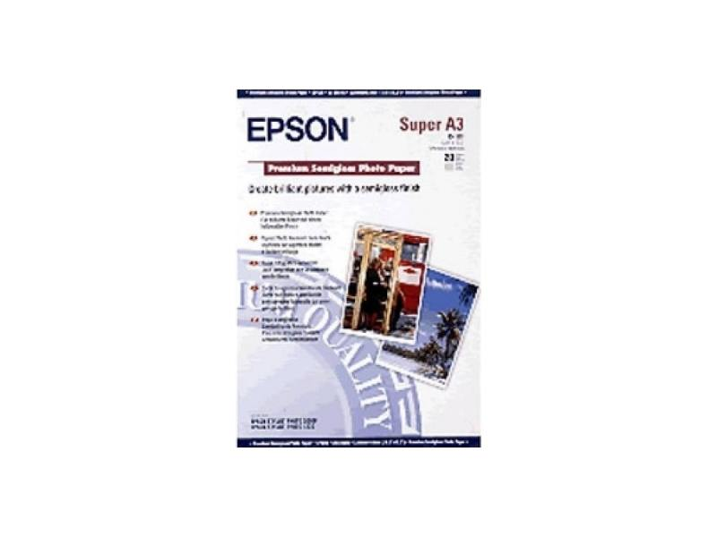 Фотобумага Epson A3+ 251г/м2 полуглянцевая 20л C13S041328 epson фотобумага c13s041340