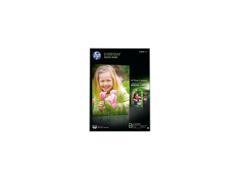 Фотобумага HP A4 200г/м2 полуглянцевая 100л Q2510A фотобумага hp cr676a
