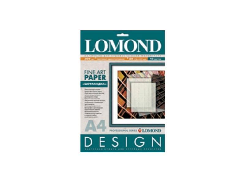 Фотобумага Lomond A4 200г/м2 10л Textile Design матовая 919041