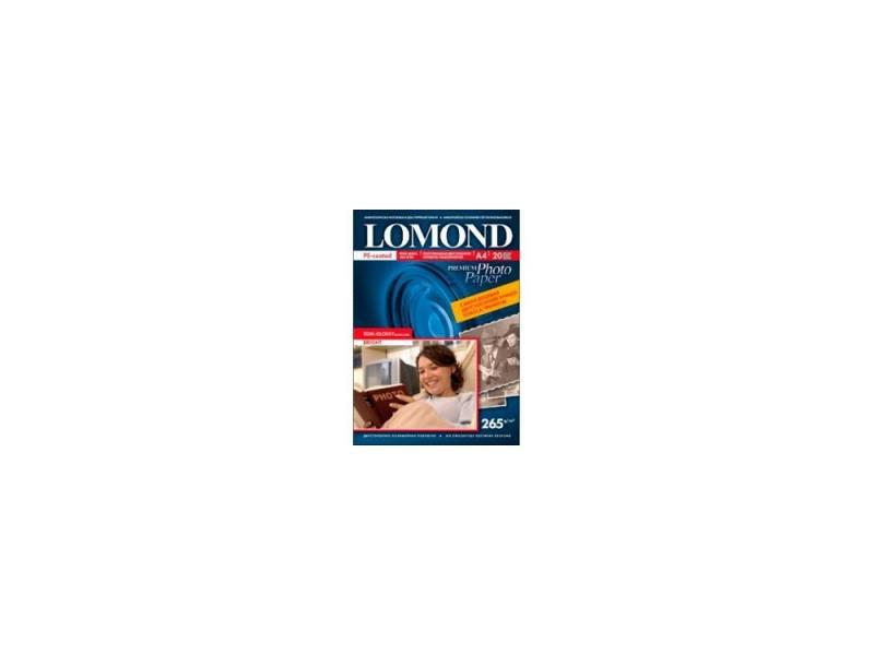 Фотобумага Lomond A4 265г/м2 20л полуглянцевая 1106302 фотобумага lomond a3 1106302 1106302