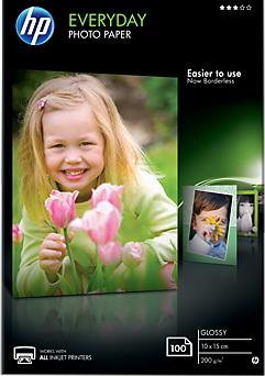 Фотобумага HP A6 200г/кв.м 100л глянцевая CR757A