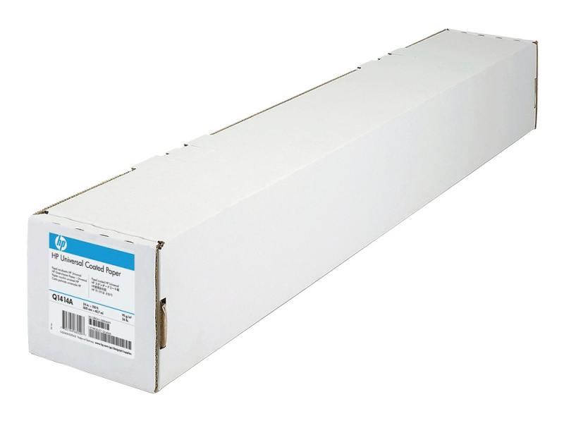 Бумага HP Q1414A Особоплотная универсальная бумага с покрытием, 1067мм * 30м, 120 г/м2 бумага hp c6035a