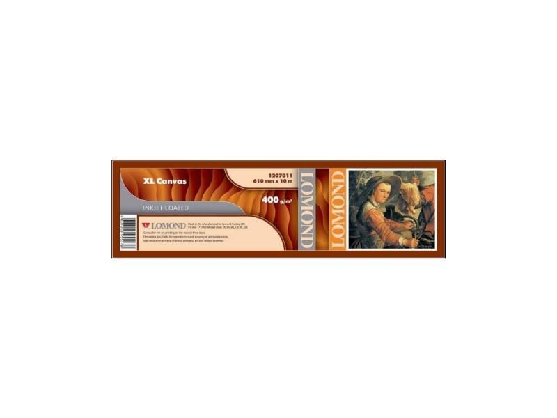 Холст Lomond 610x10x50.8 400мкм для струйной печати 1207011 lomond lomond 1207011 фотобумага рулон льняная ткань