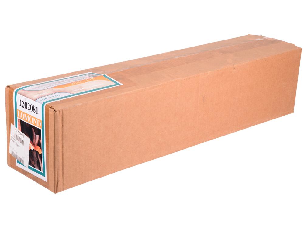 Бумага для плоттера Lomond 140г/м2 610мм х 30м х 50 матовая 1202081 бумага для плоттера lomond 2020347