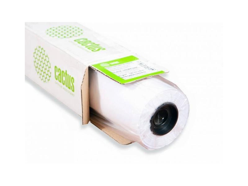 """Бумага для плоттера Cactus CS-PC120-91430 36"""" 914мм х 30м 120г/м2 с покрытием втулка 50.8мм"""