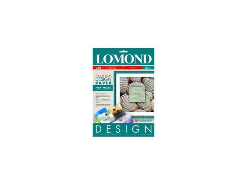 Бумага Lomond A4 230г/м2 10л матовая
