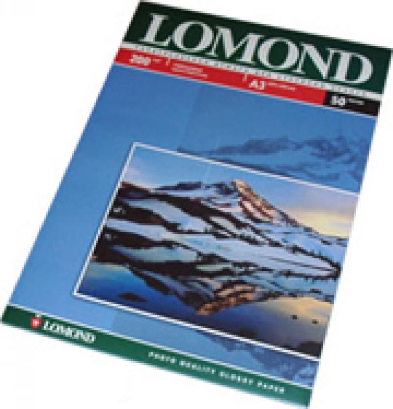 Бумага Lomond A3 200г/кв.м Glossy 0102024 50л бумага lomond a4 140г кв м glossy paper [0102054] 50л