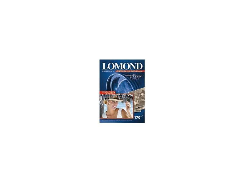 Бумага Lomond A4 170г/кв.м Super Glossy InkJet [1101101] 20л бумага lomond a4 270г кв м super glossy [1106100] 20л