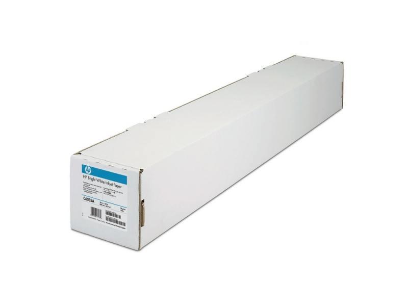 Бумага HP 23.39 594мм х 45.7м 90г/м2 рулон с покрытием для струйной печати ярко-белая Q1445A бумага hp 36 a0 914мм х 91 4м 90г м2 рулон для струйной печати ярко белая c6810a
