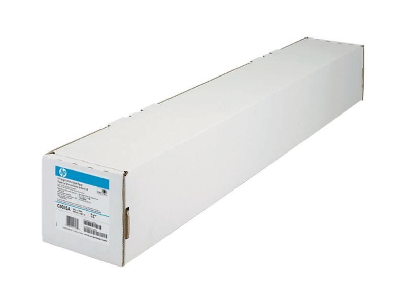 Бумага HP C6035A широкоформатная 610ммx45.7мм 90 г/м2