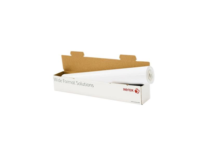 Бумага для плоттера Xerox 610мм х 50м 80г/м2 рулон для струйной печати 450L90504 christmas carol hb