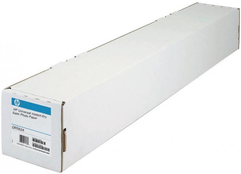 """Фотобумага HP 60"""" 1524мм x 30.5м 200г/м2 рулон атласная для струйной печати универсальная быстросохн"""