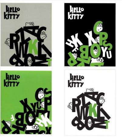 Тетрадь общая Action! HELLO KITTY, мелованный картон, кл., уф-лак, ф. А5, 96 л.,4 диз. HKO-AN 9601/5 тетрадь общая action hello kitty на гребне кл уф лак ф а5 80 л 3 диз 1 hko ans 8001 5 2