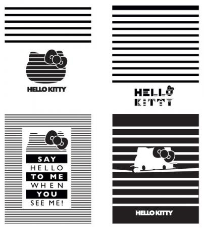 Тетрадь общая Action! HELLO KITTY, мел. картон, уф-лак, клетка, ф. А5, 48 л., 4 дизайна HKO-AN-4801 цена и фото
