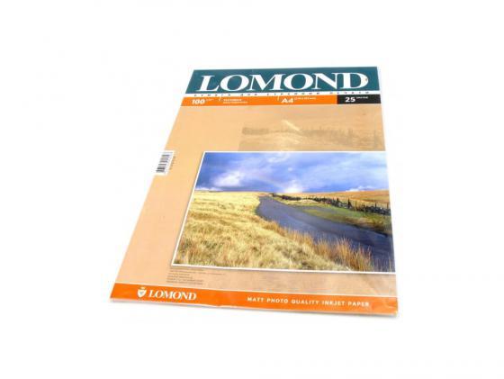 Картинка для Бумага Lomond A4 100г/кв.м матовая двустороння 0102038 25л