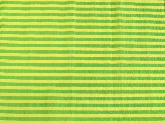 Креп-бумага Koh-I-Noor, желто-зеленая полоска, 2000х500 мм