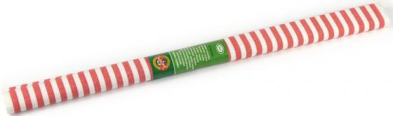 Креп-бумага Koh-I-Noor, красно-белая полоска, 2000х500 мм