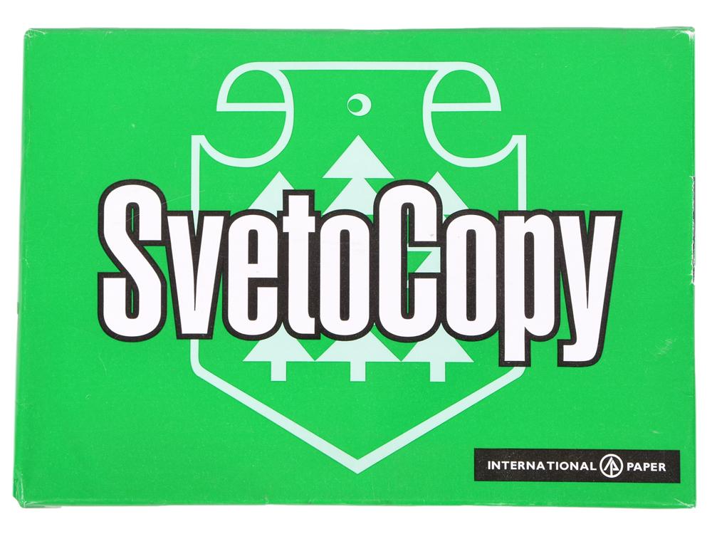 Бумага SVETOCOPY, ф. А4, белизна 146% CIE, яркость 95%, 80 г/м2, 500 л.|1 бумага для принтера svetocopy а4 500 листов
