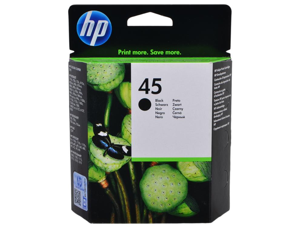 Картридж HP 51645A (№45) черный DJ815/890/930/970/1125/1220с/1600 black от OLDI