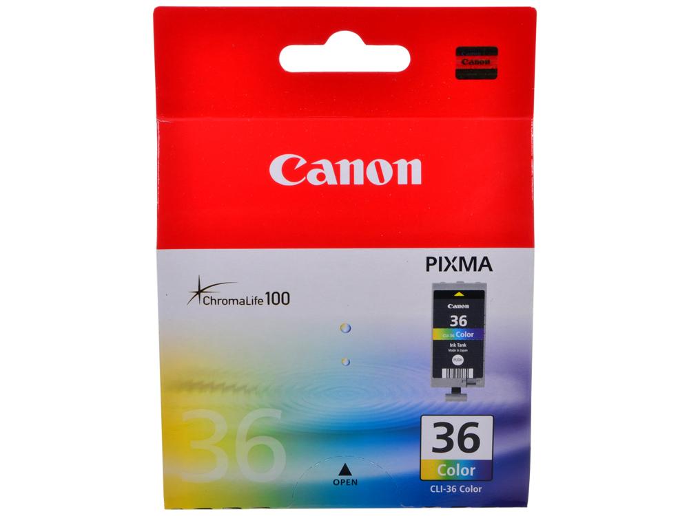 Чернильница Canon CLI-36Color для PIXMA iP100, iP110. Цветной. 250 страниц. от OLDI