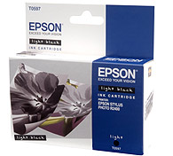 Картридж Epson Original T059740 для Stylus Photo R2400 светло-черный картридж epson t009402 для epson st photo 900 1270 1290 color 2 pack